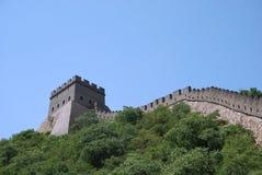 Chinesische Mauer in China Lizenzfreie Stockfotos