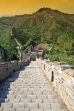 Chinesische Mauer des Porzellans Stockbilder