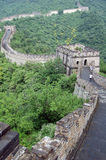 Chinesische Mauer des Porzellans, Mutianyu Lizenzfreies Stockbild