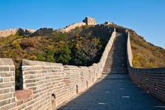 Chinesische Mauer im Herbst Lizenzfreie Stockfotos