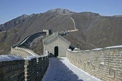 Chinesische Mauer, Peking Stockfotografie