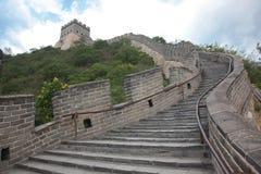 Chinesische Mauer, Peking Stockfoto