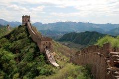Chinesische Mauer in Simatai Lizenzfreie Stockbilder