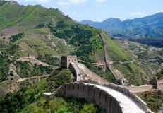 Chinesische Mauer in Simatai Stockfoto