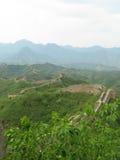Chinesische Mauer Streching heraus Lizenzfreie Stockfotografie