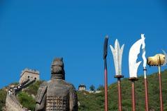 Chinesische Mauer von China stockfotos