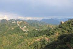 Chinesische Mauer von China stockfotografie