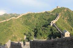 Chinesische Mauer von China stockbild