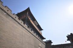 Chinesische Mauer von China, historisches Fort in China Lizenzfreie Stockfotos