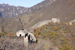 Chinesische Mauer von China Mutianyu Lizenzfreie Stockbilder