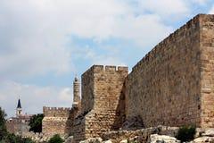 Chinesische Mauer von jüdischem Stockfotografie