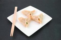 Chinesische Mehlklöße Stockfotos