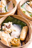 Chinesische Nahrung, Dim Sum Lizenzfreies Stockbild