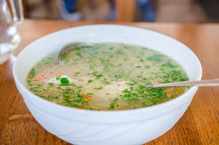 Chinesische Nahrung in einer Gaststätte Lizenzfreie Stockfotografie
