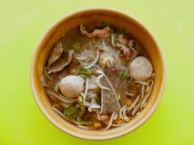 Chinesische Nahrung in einer Gaststätte Lizenzfreie Stockfotos
