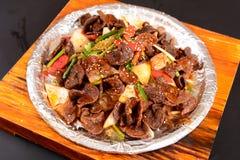 Chinesische Nahrungsmittelansammlung stockfoto