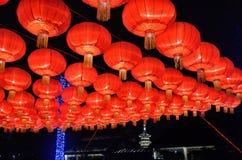 Chinesische neues Jahr-Dekorationen Stockbild