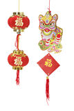 Chinesische neues Jahr-Dekorationen Lizenzfreies Stockfoto