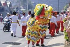 Chinesische neues Jahr-Feier auf KOH Samui Lizenzfreie Stockfotos