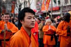 Chinesische neues Jahr-Parade Lizenzfreie Stockfotos