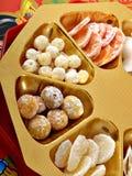 Chinesische neues Jahr-Süßigkeit Stockfotos