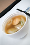 Chinesische Ohrschnecken-Suppe Stockfoto
