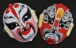 Chinesische Operen-Schablone Stockbilder