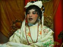 Chinesische Opern-Leistung Stockfoto