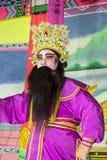 Chinesische Opern-Leistung Stockfotografie