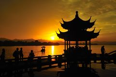 Chinesische Pagode Lizenzfreies Stockfoto