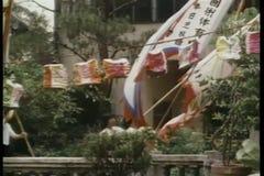 Chinesische Parade stock video