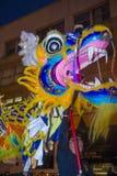 Chinesische Parade des neuen Jahres Stockfotografie
