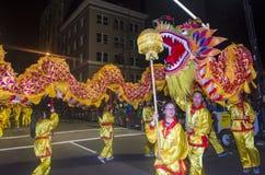 Chinesische Parade des neuen Jahres Stockbilder