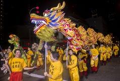 Chinesische Parade des neuen Jahres Lizenzfreie Stockfotos