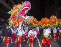 Chinesische Parade des neuen Jahres Stockfoto