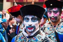 Chinesische Parade Paris des neuen Jahres Stockfotografie
