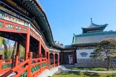 Chinesische Parklandschaft stockfoto
