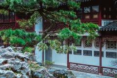 Chinesische Pavillons stockbilder