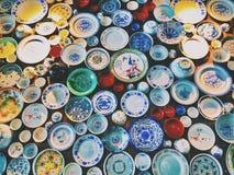 Chinesische Porzellane stockbild
