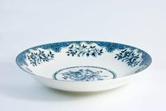 Chinesische Porzellanplatte Stockfotos
