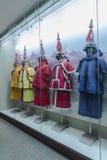 Chinesische Qing-Dynastie-Soldatrüstung Lizenzfreie Stockbilder
