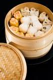 Chinesische Raviolis Lizenzfreie Stockfotos