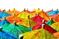 Chinesische Regenschirme lizenzfreie stockfotografie