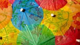 Chinesische Regenschirme Stockfoto