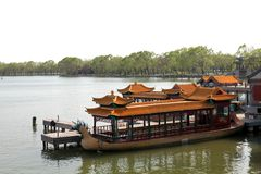 Chinesische Reiseflüge Stockbild
