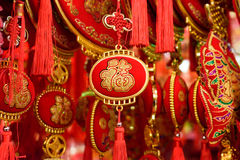 Chinesische rote docorations Lizenzfreie Stockbilder