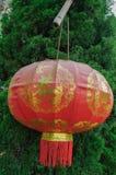 Chinesische rote Laterne stockfoto