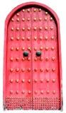 Chinesische rote Tür Lizenzfreie Stockfotografie