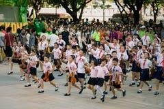 Chinesische Schülerfeier Stockfotografie