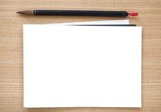 Chinesische Schreibensbürste mit Weißbuch Stockfoto